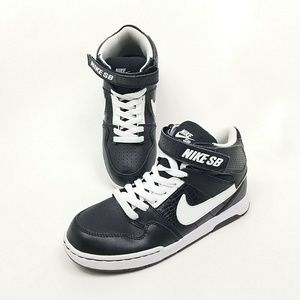 Nike SB Morgan Mid 2 Boys Skateboard Shoes Sz 5Y